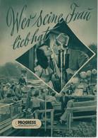 """PROGRESS Filmillustrierte """"Wer Seine Frau Lieb Hat"""" DDR 325/54 - Magazines"""