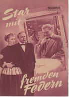 """PROGRESS Filmillustrierte """"Star Mit Fremden Federn"""" DDR 102/55 - Magazines"""