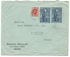 ENVELOPPE BELGIQUE 1930 POUR ZURICH SUISSE / 299 - Cartas