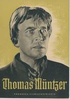 "PROGRESS Filmillustrierte ""Thomas Münzer"" DDR 54/56 - Magazines"