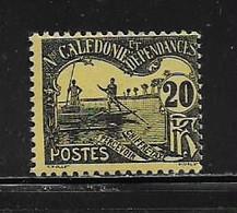 NOUVELLE CALEDONIE  ( NC - 784 )   1906  N° YVERT ET TELLIER  N° 19  N** - Postage Due