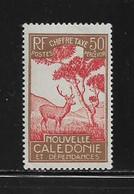 NOUVELLE CALEDONIE  ( NC - 786 )   1928  N° YVERT ET TELLIER  N° 34  N** - Postage Due