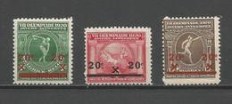 België 184/186 Postfris - Nuevos