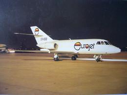 Avion / Airplane / EUROJET / AMD Falcon 20C / Registered As OO-OOO - 1946-....: Modern Era