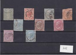 Italy - 1863/65 - Small Selection Of 1863 Issue - Fair Condition - Non Classés