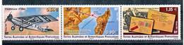 TAAF 591/593 Avion Farman Accident Juan De Nova 2011 Neufs ** TB MNH Prix De La Poste 2.81 - Nuevos