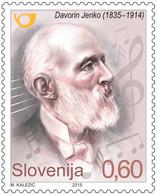 Slovenia Slowenien 2015 MNH** Sale Sonderpreis Special Offer - Davorin Jenko - Slovenië