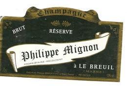 52 Le Breuil Champagne Mignon - Champagne