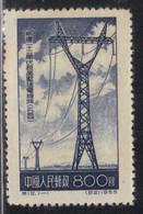 Chine 1955 Yvert 1032 (*) Neuf Sans Gomme (AE14) - Unused Stamps