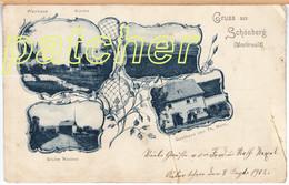 Schönberg (Höhn, Bad Marienberg, Westerwald) Gasthaus Horn, Grube Nassau, 1902 - Bad Marienberg