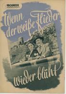 """PROGRESS Filmillustrierte """"Wenn Der Weiße Flieder Wieder Blüht"""" DDR 522/54 - Magazines"""