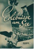 """PROGRESS Filmillustrierte """"Erlebnisse Am See"""" DDR 115/55 - Magazines"""