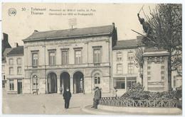 Tienen - Tirlemont - Standbeeld Van 1830 En Vredegerecht - P.-J. Filon, éditeur - 1929 - Tienen