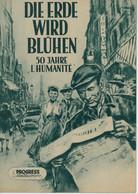 """PROGRESS Filmillustrierte """"Die Erde Wird Blühen"""" DDR 136/56 - Magazines"""