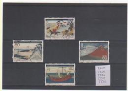 JAPON 2011 YT N° 5509-10-13-14 Oblitérés - Oblitérés