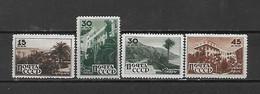 URSS - 1946 - N. 1032/35* (CATALOGO UNIFICATO) - Nuovi