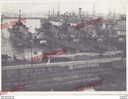Au Plus Rapide Port D'Alger Navire De Guerre Photo Ets Cinématographique Des Armées Beau Format - 1939-45