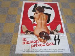 AFFICHE  CINEMA  LA  MAISON   PRIVE   DES  ???? 120X160 - Otros