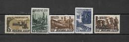 URSS - 1946 - N. 1067/71* (CATALOGO UNIFICATO) - Nuovi