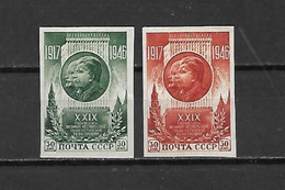 URSS - 1946 - N. 1075/76* ND (CATALOGO UNIFICATO) - Nuovi