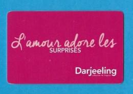 Carte Cadeau Darjeeling.    Gift Card.   Geschenkkaart.   Tarjeta Regalo. - Gift Cards
