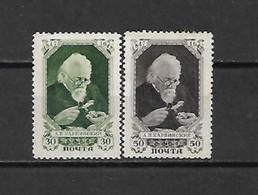 URSS - 1947 - N. 1086/87* (CATALOGO UNIFICATO) - Nuovi