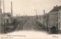 Tilburg Gezicht Van Af De Spoorbrug M5184 - Tilburg