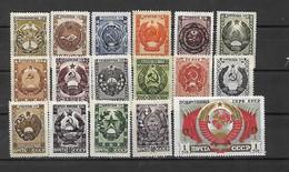 URSS - 1947 - N. 1088/104* (CATALOGO UNIFICATO) - Nuovi