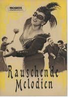 """PROGRESS Filmillustrierte """"Rauschende Melodien"""" DDR 50/55 - Magazines"""