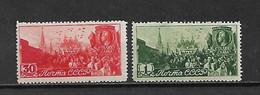 URSS - 1947 - N. 1115/16* (CATALOGO UNIFICATO) - Nuovi