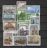 URSS - 1947 - N. 1121/35* (CATALOGO UNIFICATO) - Nuovi