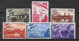 URSS - 1947 - N. 1144/49* (CATALOGO UNIFICATO) - Nuovi