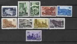 URSS - 1947 - N. 1150/59* (CATALOGO UNIFICATO) - Nuovi