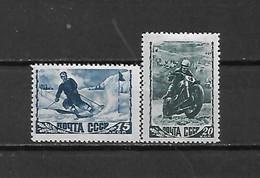URSS - 1948 - N. 1190/91* (CATALOGO UNIFICATO) - Nuovi
