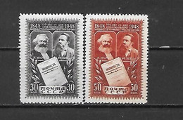 URSS - 1948 - N. 1199/200* (CATALOGO UNIFICATO) - Nuovi