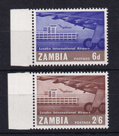 Zambia: 1967   Opening Of Lusaka International Airport    MNH - Zambia (1965-...)