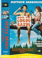 """Affiche 30x21,5 De Film """"SUR LA CORDE RAIDE"""" De FRANCIS VEBER -universal Vhs Secam - Affiches"""