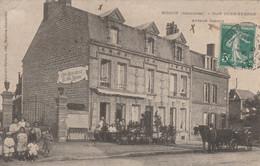 Mohon , Café Jung -  Ferron , Avenue Carnot ,( Charleville Mézières , Givet ) Attelage , Calèche - Charleville