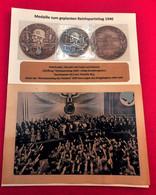 Médaille Prototype Reichsparteitag 1940 + Photo - Sin Clasificación