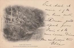 Foret D'Ardennes , Huttes De Bucherons & De Charbonniers  ,( édit , Charpentier Richard , Mézières ) - Non Classificati