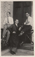 10725.  Foto Vintage Gruppo Uomini Aa'30 - 14x8,5 - Anonymous Persons