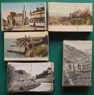 LOT 21-15 : LOT 500 CARTES. PAYSAGES, LIEUX, CHATEAUX DE  FRANCE QUELQUES PAYS ET SEMI-MODERNES FORMAT 9 CM X 14 CM - 500 Postcards Min.