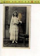 56780 - COMMUNIE MEISJE - FILLE COMMUNION - PHOTO VANTOMME OEKENE - Anonymous Persons