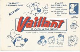 E1 /  Old Blotter  Carta Assorbente Papel Secante / BUVARD Ancien Journal VAILLANT Placid Arthur Muzo Pif Radicelle - J