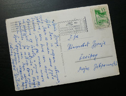 Yugoslavia 1965 Bosnia And Herzegovina Flam JUGOSLOVENSKE PIONIRSKE IGRE Card Sent From Sarajevo To Belgrade Serbia B3 - Covers & Documents