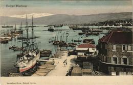 PC CPA LEBANON, BEIRUT HARBOUR, (b23079) - Líbano