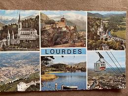 CP LOURDES DIFFÉRENTES VUES - Lourdes