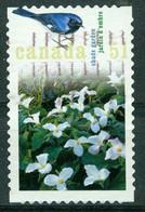 Bm Canada 2006 MiNr 2321 Used | Gardens. Trilliums And Black-throated Blue Warbler (Shade Garden) - Gebraucht
