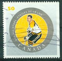 Bm Canada 2005 MiNr 2242 Used | National Hockey League. All-Star Game Players. John Bucyk (wearing Boston Bruins Jersey) - Gebraucht