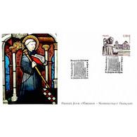FDC LNF - Bernard De Clairvaux, Oblit 4/10/2013 Fontaine Les Dijon - 2010-....